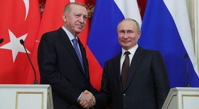 Erdoğan'dan Putin'e: Karabağ'da Türk-Rus ortaklığının yapıcı sonuçlarını gösterelim