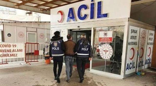 Şırnak'ta 30 yıl kesinleşmiş hapis cezası bulunan şahıs yakaladı