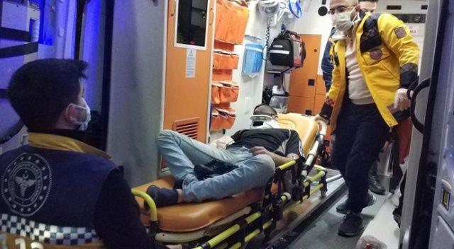 Sokak ortasında 3 kişi tarafından hastanelik edildi