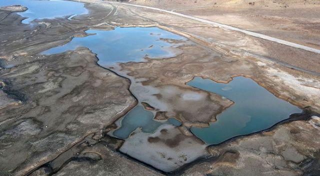 Son üç ayda 32 milimetre yağış alan Çorum'da kuraklık tehlikesi