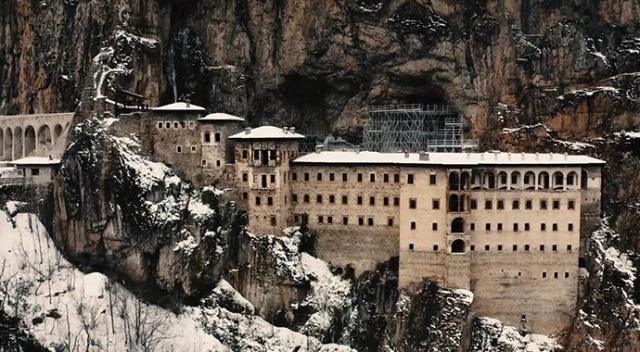 Sümela Manastırı'na ziyaretçi yasağı Mart ayına kadar sürecek
