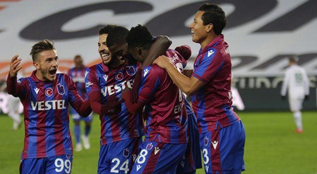 Trabzonspor, Konyaspor'u mağlup etti
