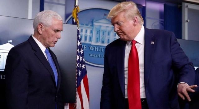 Trump ve Pence'den baskın sonrası ilk görüşme