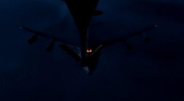 MSB: Bir NATO uçağına ilk kez gece görevinde havadan yakıt ikmali yapıldı