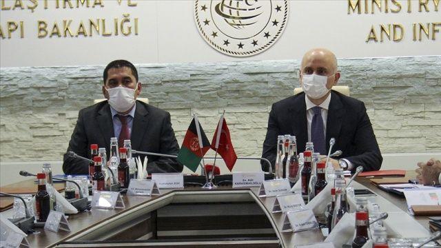 Türkiye, Afganistan'a ulaştırma alanında destek verecek