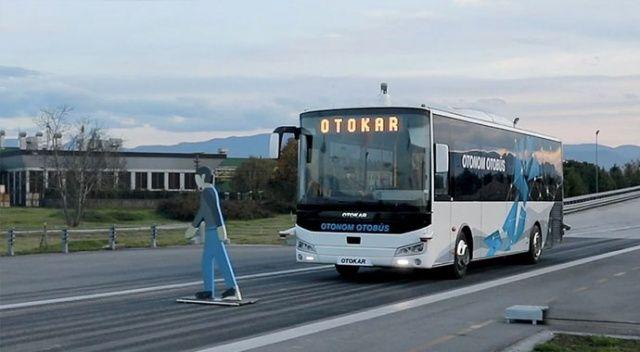 Türkiye'nin sürücüsüz  otobüsü testleri geçti