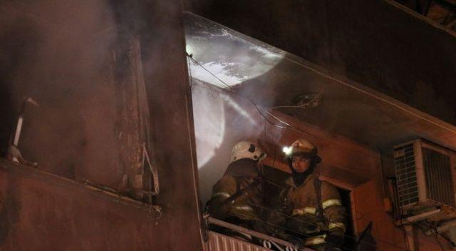 Yangını farkeden bekçiler faciayı önledi