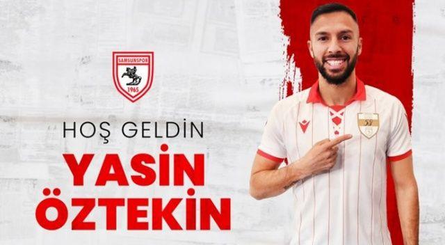 Yasin Öztekin, Samsunspor'a transfer oldu