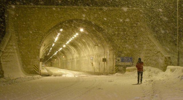 Zigana geçidinde kar etkisi artırdı