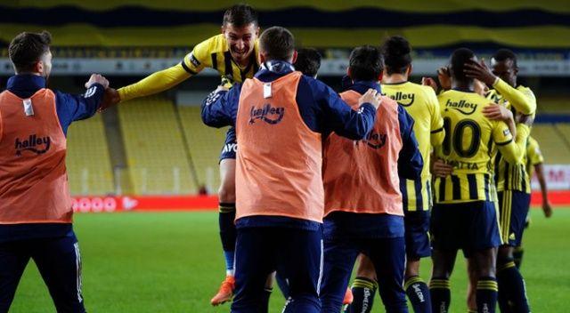 Ziraat Türkiye Kupası: Fenerbahçe: 1 - Kasımpaşa: 0