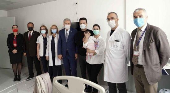 Sinan Özen'in minik kızı Ege'de sağlığına kavuştu