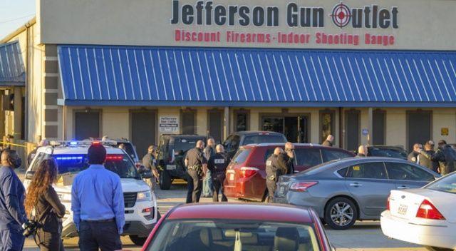 ABD'de silah mağazasında silahlı saldırı: 3 ölü