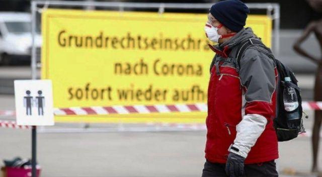 Almanya'da son 24 saatte 11 bin 869 koronavirüs vakası tespit edildi