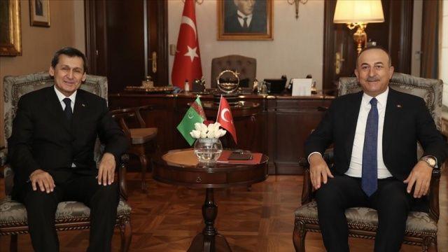Bakan Çavuşoğlu: Türkmen gazının Türkiye üzerinden Avrupa'ya ulaşması için üzerimize düşeni yapmaya hazırız