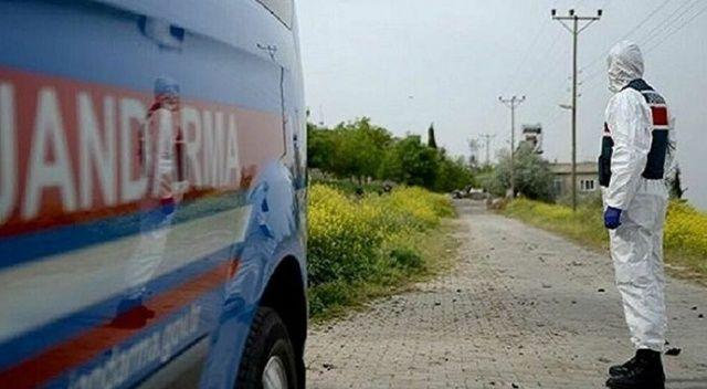 Balıkesir'in Manyas ilçesinde 8 ev karantinaya alındı