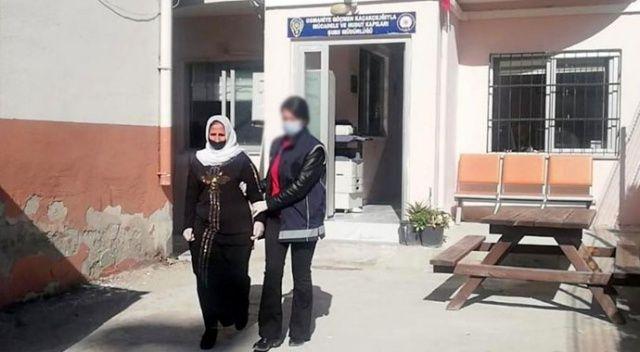 Bulaşıcı hastalık kodundan Türkiye'ye giriş yasağı olan Suriyeli kadın yakalandı
