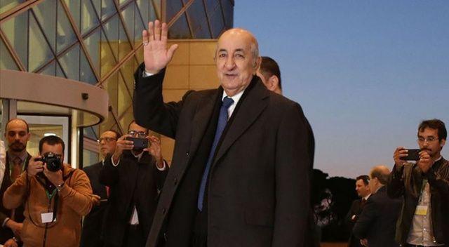 Cezayir Cumhurbaşkanı, parlamentoyu fesheden kararnameyi imzaladı