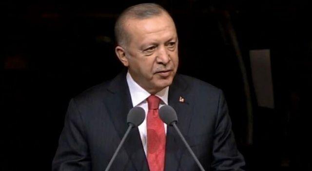 Cumhurbaşkanı Erdoğan'dan 'dil' tepkisi: Üzülerek ifade etmek isterim ki çoraklaşma sürecini yaşıyoruz