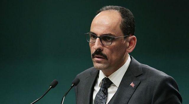 Cumhurbaşkanlığı Sözcüsü Kalın, Ermenistan'daki darbe girişimini kınadı