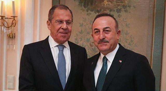 Dışişleri Bakanı Çavuşoğlu, Rus mevkidaşı Lavrov'la telefonda görüştü