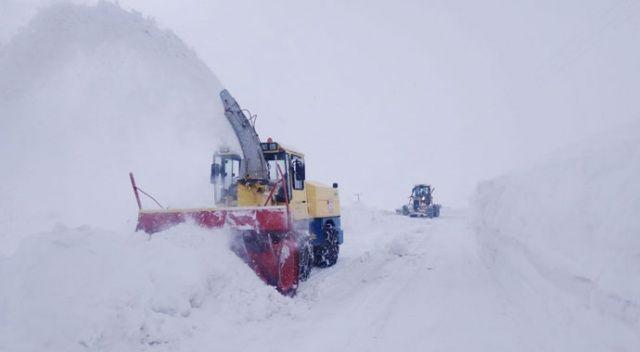 Doğu'daki 4 ilde 307 yerleşim birimine kar nedeniyle ulaşım sağlanamıyor