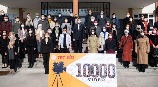 EBA TV'den 10 ayda 10 bin ders videosu