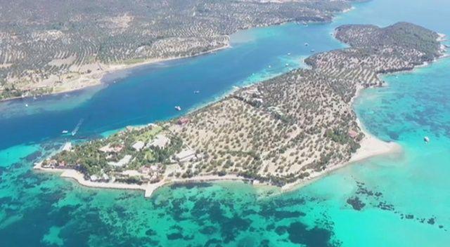 Ege'nin Maldivleri 'Kalem Adası' 400 milyon liraya satılık