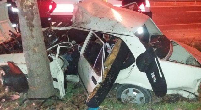 Feci kaza: anne ve baba öldü 4 çocuk yaralı