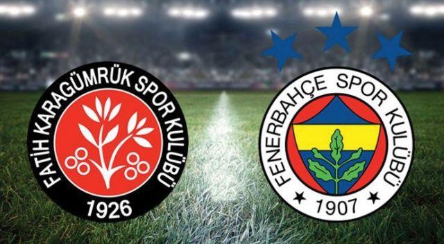 Fenerbahçe, deplasmanda Fatih Karagümrük'ü 2-1 mağlup etti