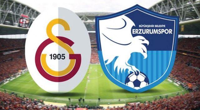 Galatasaray, evinde Erzurumspor'u 2-0 mağlup etti