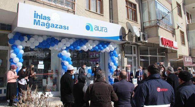 İhlas Mağazası Tosya Şubesi törenle açıldı