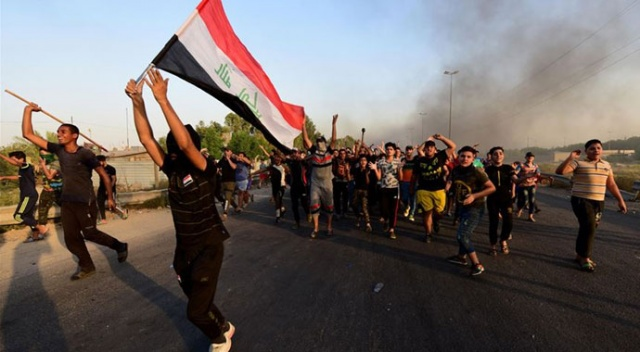 Irak'ta hükümet karşıtı protestoların 5 günlük bilançosu: 5 ölü, 271 yaralı