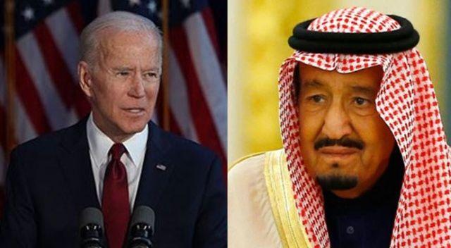 Joe Biden ile Kral Selman telefonda görüştü