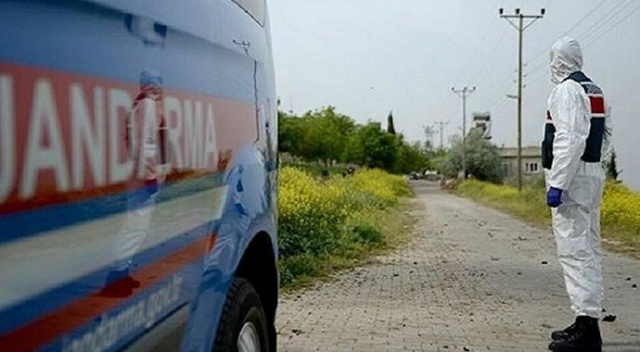 Karabük'te bir apartman Covid-19 tedbirleri kapsamında karantinaya alındı