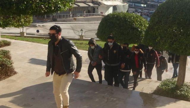Marmaris'te uyuşturucu tacirleri tutuklandı