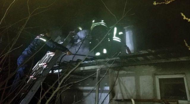 Menteşe Karabağlar Yaylası'nda ev yangını