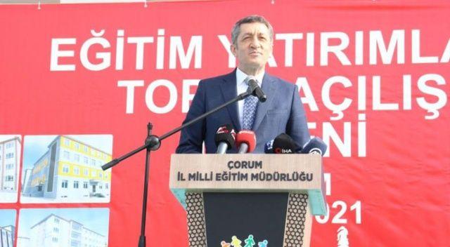Milli Eğitim Bakanı Selçuk: Çocuklarımızın eğitimden geri kalmaması için ne gerekiyorsa yapıyoruz