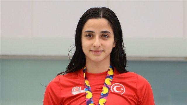Milli yüzücü Deniz Ertan 800 metre serbestte olimpiyat A barajını geçti