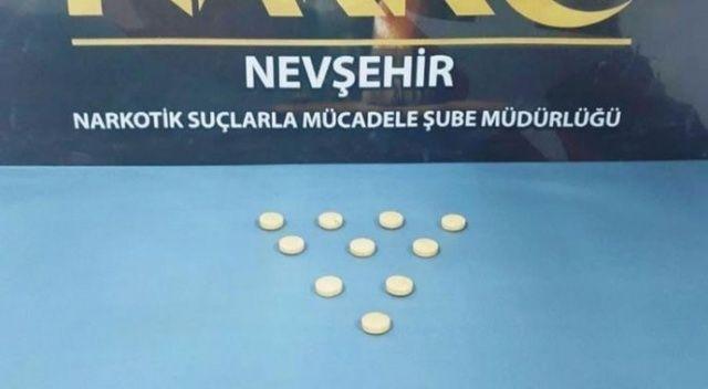 Nevşehir'de uyuşturucudan 3 kişi yakalandı