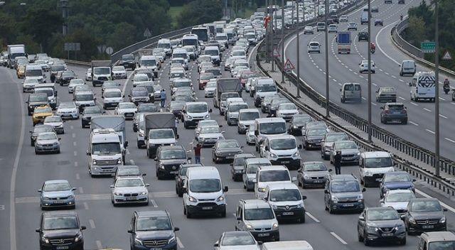 Ocakta trafiğe 117 bin 313 aracın kaydı yapıldı