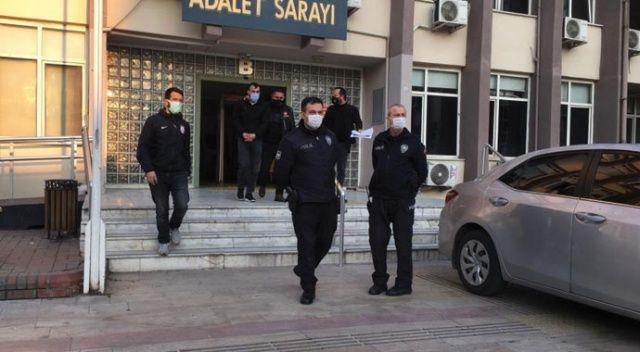 Polis kovaladı, uyuşturucu tacirleri geri geri kaçtı