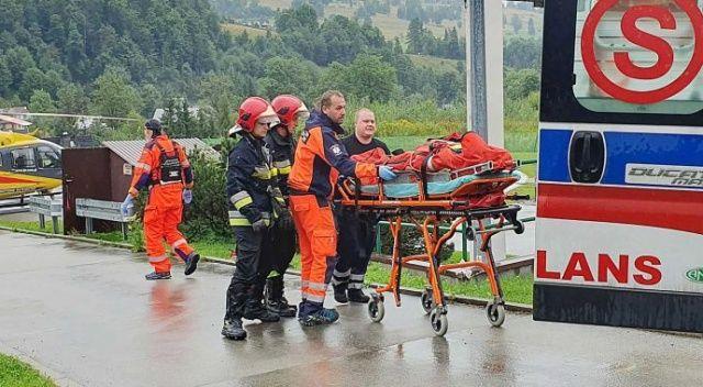 Polonya'da helikopter kazası: 2 ölü, 2 yaralı