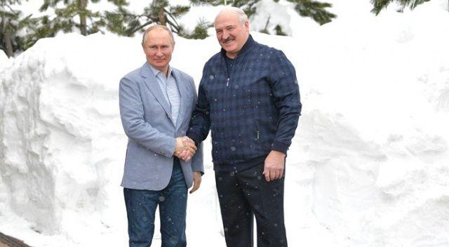 Putin, Belarus Devlet Başkanı Lukaşenko ile bir araya geldi