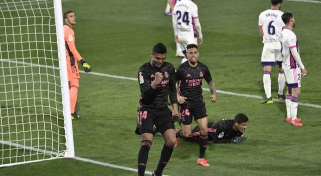 Real Madrid deplasmanda tek golle galip