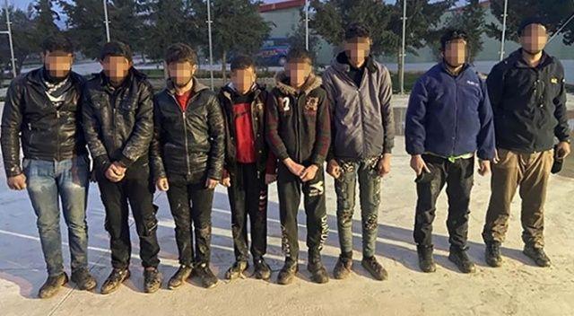 Sınırda yakalanan teröristler tutuklandı
