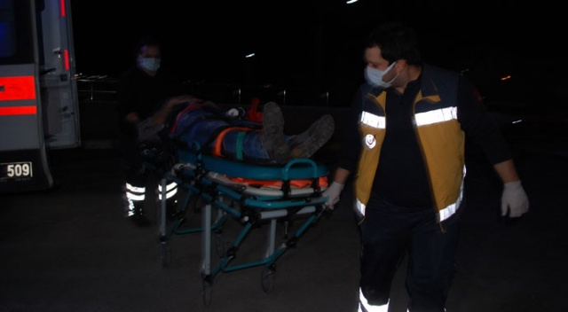 Tekirdağ'da iki otomobil çarpıştı: 4 yaralı