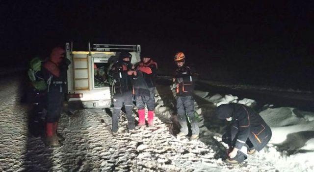 Uludağ'da kayıp cerrah alarmı