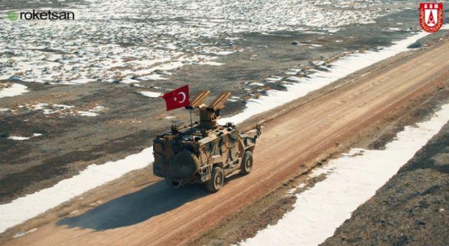 Yerli hava savunma sistemi SUNGUR'dan tam isabet