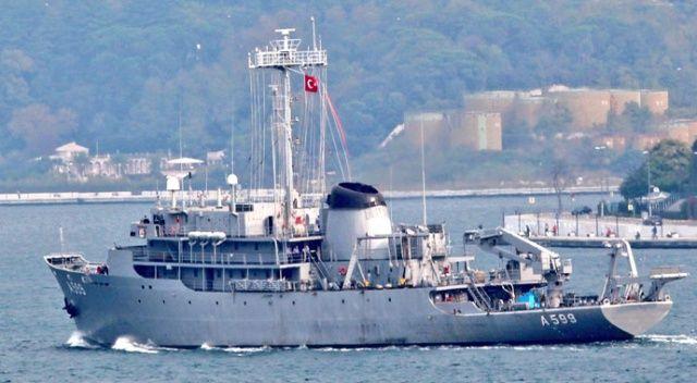 Yunan F-16'ları TCG Çeşme gemisini taciz etti