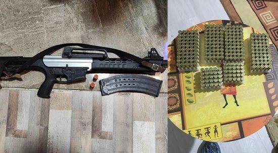 Yasa dışı silah ve mühimmat ticareti yapan suç örgütüne operasyon: 40 gözaltı